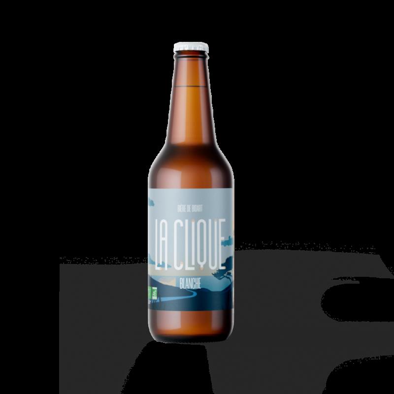 Bière Blanche Artisanale Bio | La Clique - Brasserie Artisanale Pays Basque