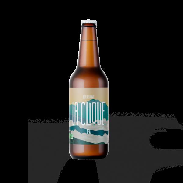 Bière IPA Artisanale Bio   La Clique - Brasserie Artisanale Pays Basque